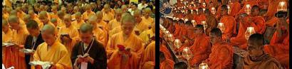 Buddhistischer Priester findet neues Leben durch Jesus