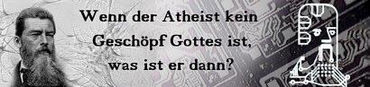 Durchdachter Atheismus