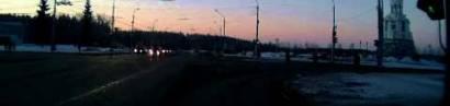 Blitz überm Petersdom. Meteorit über Tscheljabinsk.
