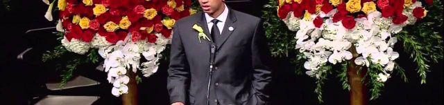 Monty Williams Speech. Absolutely incredible. Dieser Mann spricht bei der tragischen Beerdigung seiner Frau.