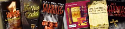 Bücher zum Thema Sakrieleg und DAVINCI CODE