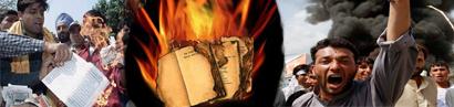 Bibel- und Koranverbrennungen