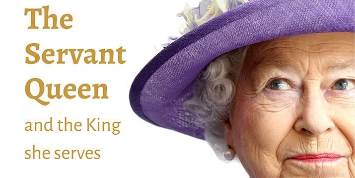 """Das Cover von """"Die dienende Königin und der König, dem sie dient"""". Foto: www.hopetogether.org.uk"""