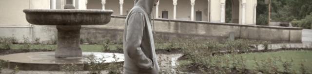 Ein Prediger im Regen