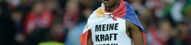Gratulation FC Bayern München: Siegerjahre: 32-69-72-73-74-80-81-85-86-87-89-90-94-97-99-00-01-03-05-06-08-10-13-14-15-16