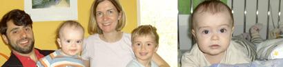 Gebetskette für den kleinen Nicolas