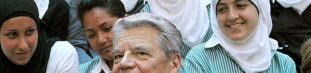 Joachim Gauck und der Islam. Dazu die kompetente Antwort eines Christen zum Gewaltproblem innerhalb dieser Religion.