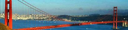 Romantischer Selbstmord auf der Golden Gate Bridge