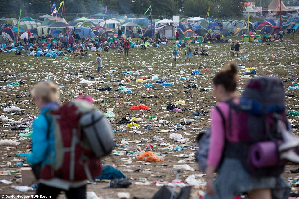 Popular festival: Tickets to the event, which is now in its 44th year, sold out in minutes even before any of the headline acts had been confirmed