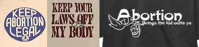 Geschmacklose T-Shirts: