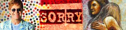 Sorry seems to be the hardest word
