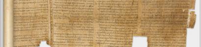 Bibel verfälscht? Google veröffentlicht die Qumran-Schriftrollen zum Selberprüfen
