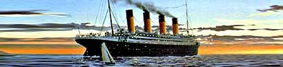 Die Titanic – sie sollte unsinkbar sein …