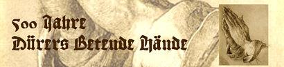 500 Jahre Dürers Betende Hände