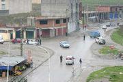 Strassenszene in der Stadt Tizi
