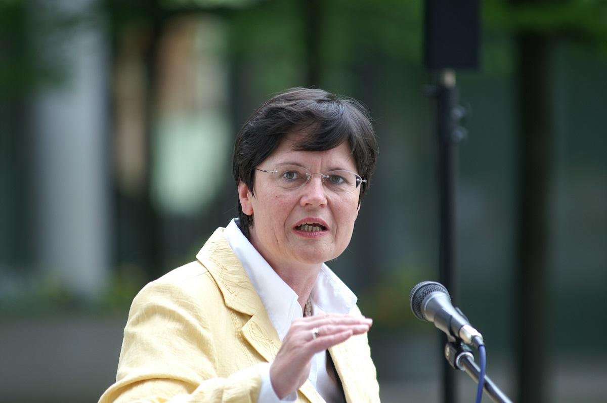 Christine Lieberknecht (CDU), Thüringens ehemalige Ministerpräsidentin, wirft den Kirchen in der Corona-Krise schwere Versäumnisse vor.