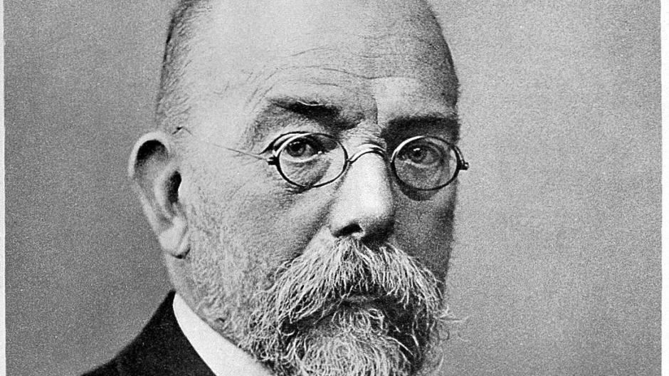 27.5.1910: Todestag von Robert Koch,  Mediziner und Bakteriologe, Entdecker des Tuberkulose-Bakteriums.